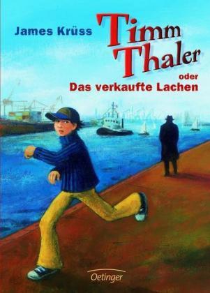Timm Thaler verkauft sein Lachen. Ein besonders strahlendes Lachen und ab sofort gewinnt er jede Wette. So lautet das Geschäft in dem Buch von James Krüss, das 1962 erschienen ist.