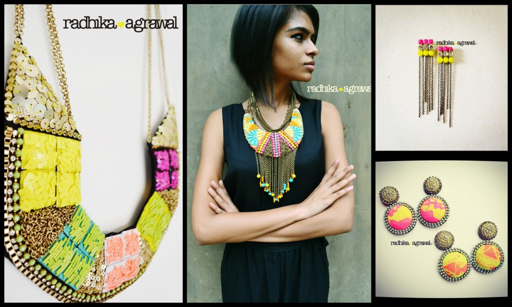 Radhika Agrawal: unique pieces of jewelry that stand out and make a statement.
