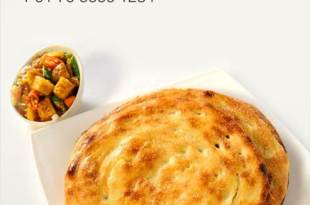 Choose from an array of authentic buttery parathas