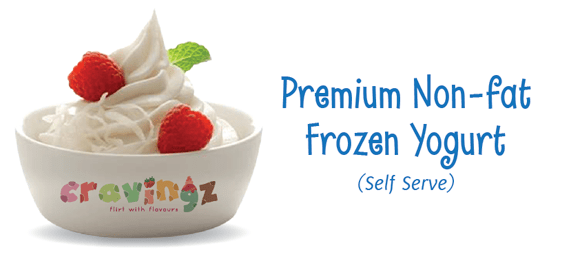 Cravingz Frozen Yogurt: Yumminess guaranteed