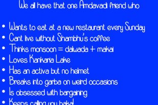 What friendship means to an Amdavadi!