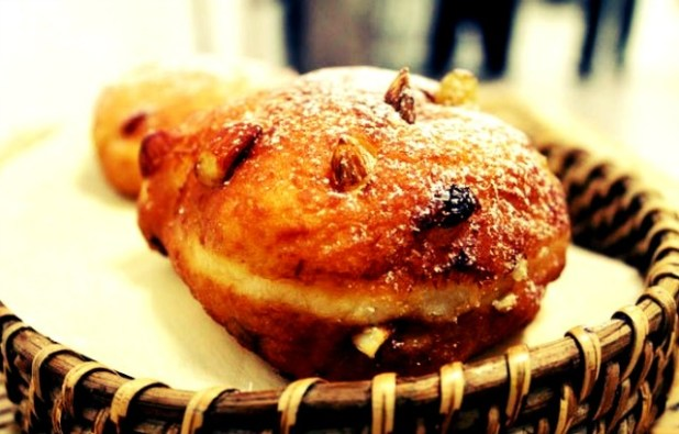 Oliebollen is a Dutch pastry similar to a doughnut | Available exclusively at Chocolárt, Hyatt Ahmedabad