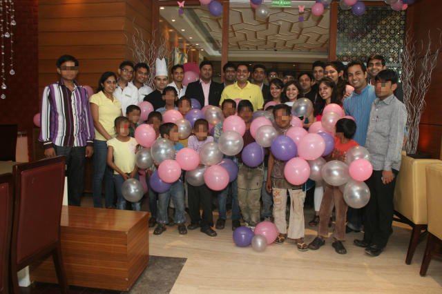 Joy of Giving week at Courtyard by Marriott Ahmedabad