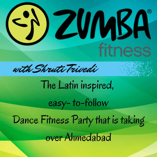 Zumba in Ahmedabad with Shruti