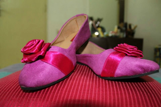 The first pair designed by RItika Agrawal