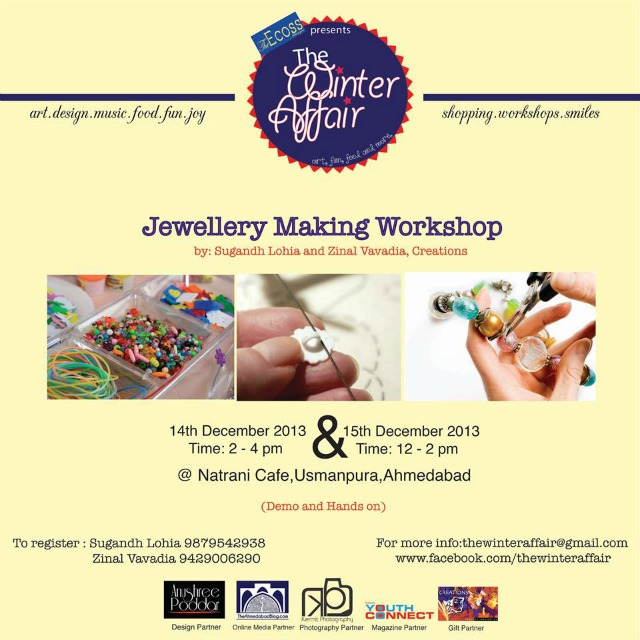 Jewelery Making Workshop by Creations