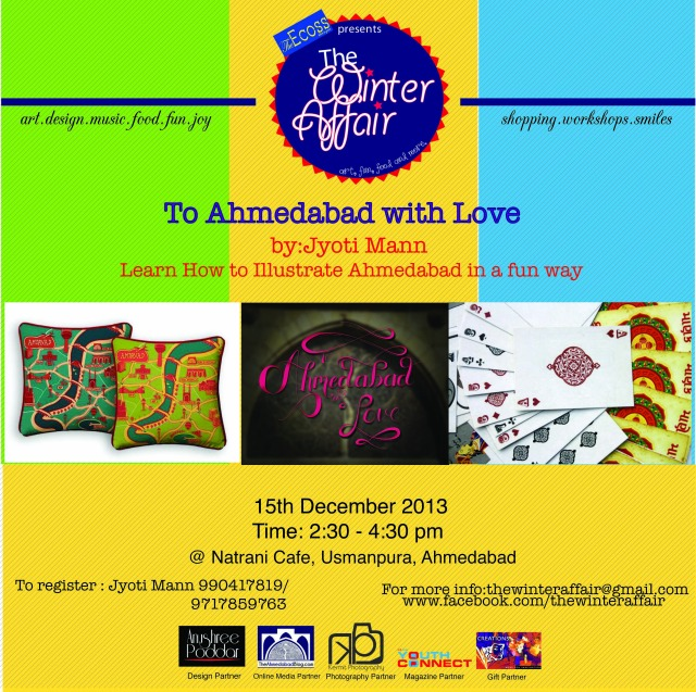 Ahmedabad with love workshop by Jyoti Mann