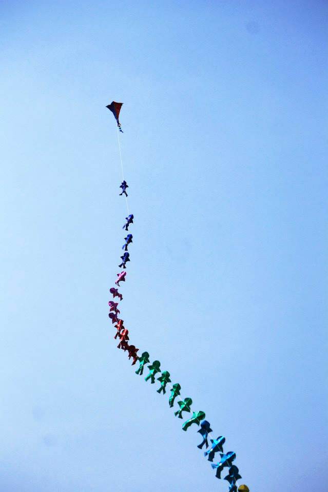 International Kite Festival-2014 at the Sabarmati Riverfront  | Photo © Ashish Mehta