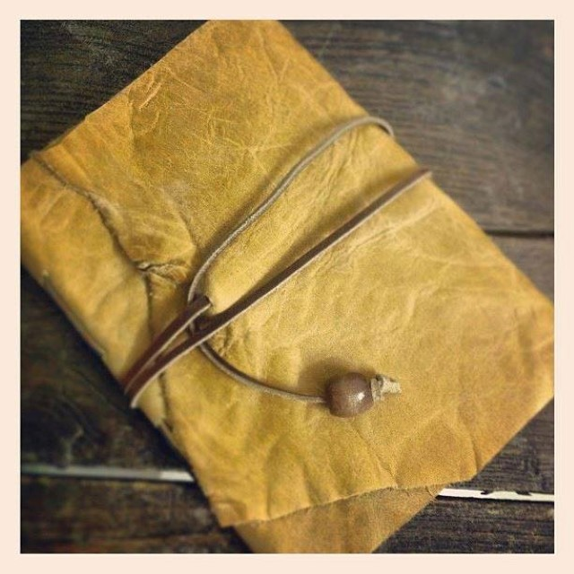 Kaagazi's handcrafted  Leather notebooks