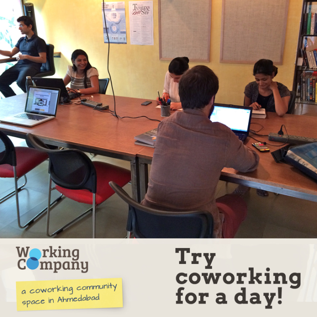 Working Company: Open for all Amdavadis