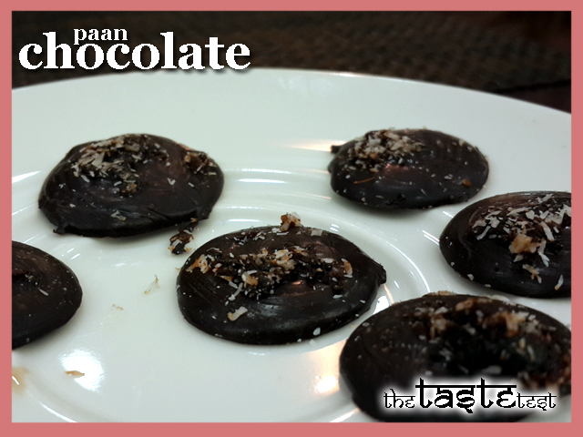 Nini's Kitchen in Ahmedabad: Paan Chocolate