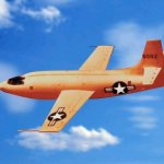 Bell X-1 rocket plane of the United States Air Force (NASA photo)