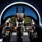 Northrop F-20 cockpit mock-up. (U.S. Air Force photo)