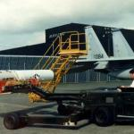 The ASM-135A being moved