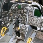 An early cockpit on an A-10