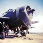 In this rare photo, a TBF Avenger prepares for a catapult launch on a carrier.