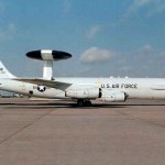 The E-3's radar combined with an identification friend or foe, or IFF, subsystem can look down to detect, identify and track enemy and friendly low-flying aircraft by eliminating ground clutter returns that confuse other radar systems.