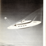 Straight out of the movies? The UFO-style Flying Saucer