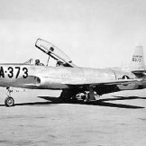 Lockheed YF-94 (S/N 48-373). This was the second aircraft built (from TF-80C)
