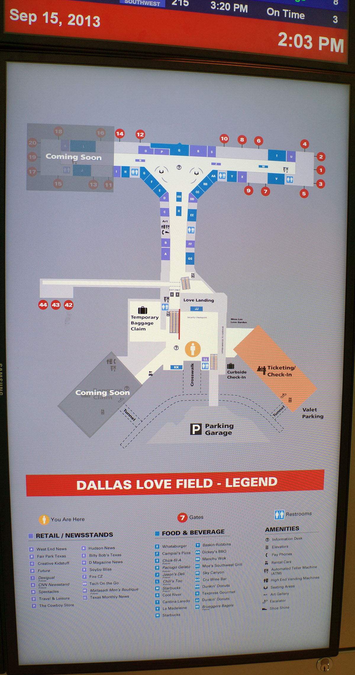 Lovefield Airport Map : lovefield, airport, Dallas, Field, Dallas,, Airchive