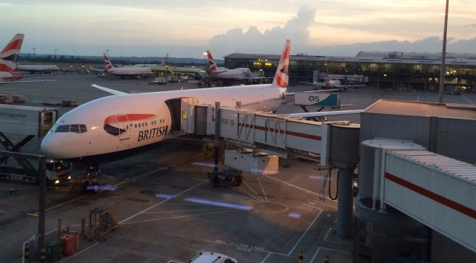 Review: British Airways World Traveler 777-300ER London Heathrow to Mumbai