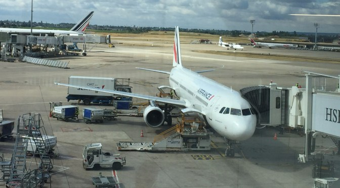 Review: Air France Economy A321-200 Nice to Paris Orly