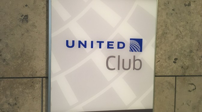 Review: United Domestic Club Lounge SFO