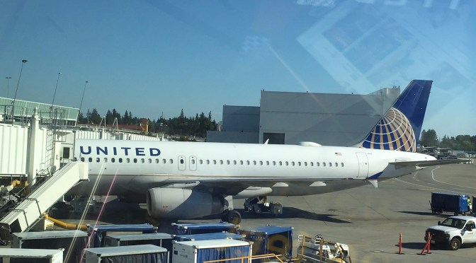 Review: United Airlines Economy Plus A320-200 Seattle to San Francisco