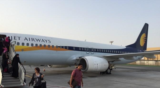 Review: Jet Airways Economy 737-800W Pune to Abu Dhabi