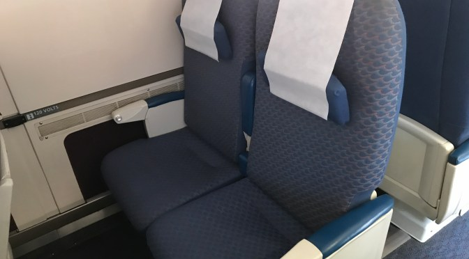 Review: Amtrak Coach Class Santa Ana to San Diego Old Town