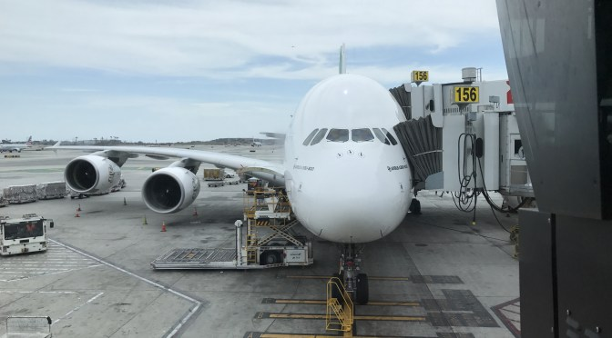 Review: Emirates Airline A380 Economy Los Angeles to Dubai