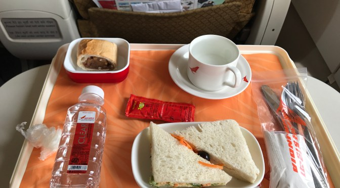 Review: Air India A319-100 Business Class Hyderabad to Pune