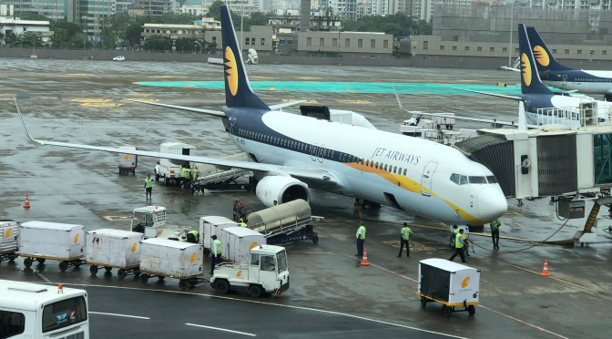 Review: Jet Airways 737-800 Economy Class Mumbai to Pune