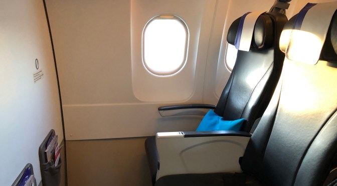 Review: Air France JOON A320-200 Business Class Paris CDG to Rome