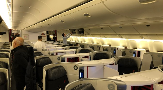 Review: Air France 777-300ER Business Class Washington DC to Paris CDG