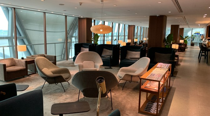 Review: Cathay Pacific Lounge Bangkok