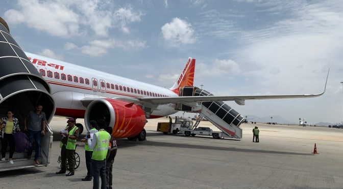 Review: Air India A320Neo Economy Class Mumbai to Bengaluru