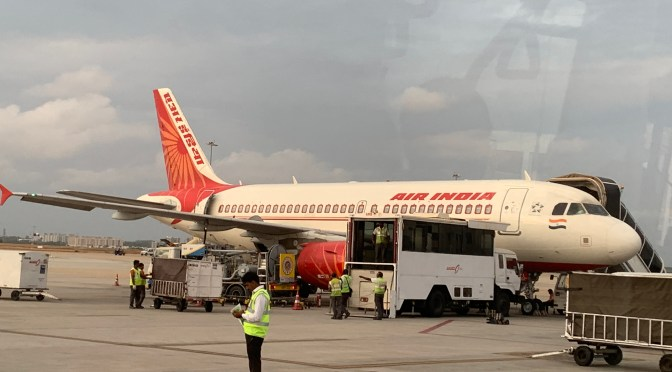 Review: Air India A319-100 Economy Class Bengaluru to Mumbai