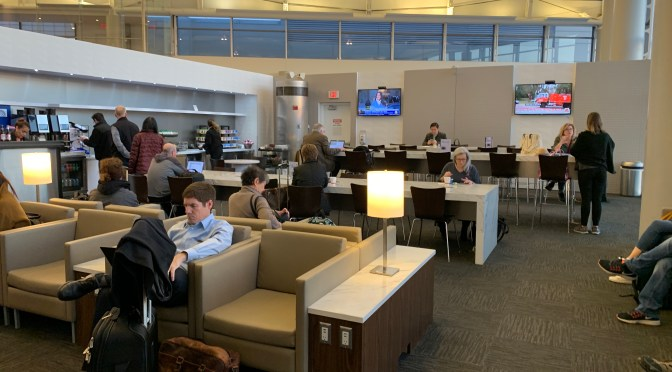 Review: Pop Up United Club Lounge Concourse C, Gate C124