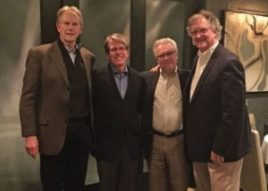 Founders of The Difficult Airway Course: Drs. Robert Schneider, Ron Walls, Michael Murphy and Robert Luten