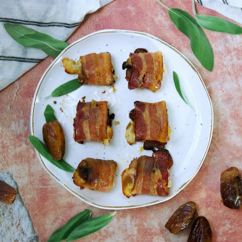 Gluten Free Bacon Cheese Bites