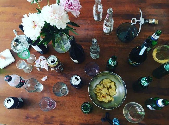 Jeg liker faktisk ganske godt å rydde oppetter fine fester.
