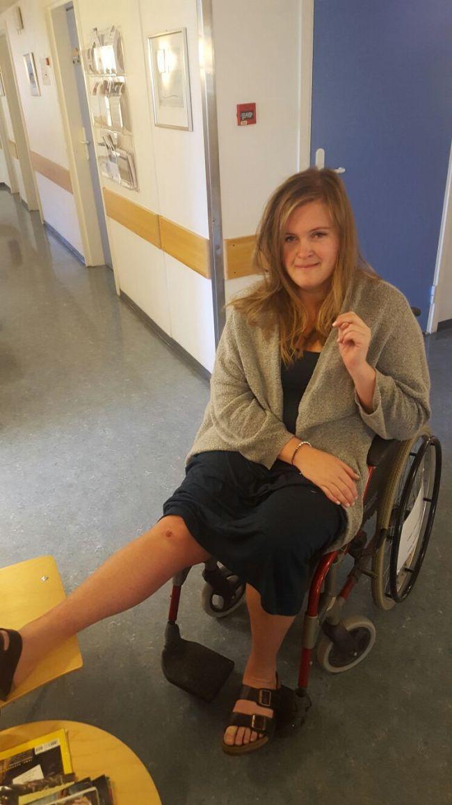 Krøse-Maja har fått rullestol