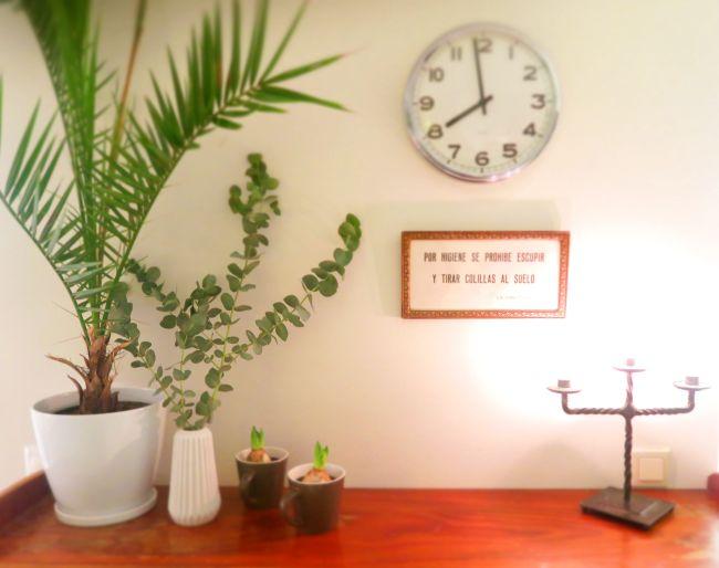 Noen ganger er det innafor å ta bilde av et fint hjørnet i huset.