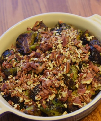 Creative Cooking: Roasted Brussel Sprouts