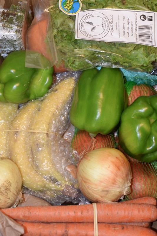 Alaska Food Network Box Contents