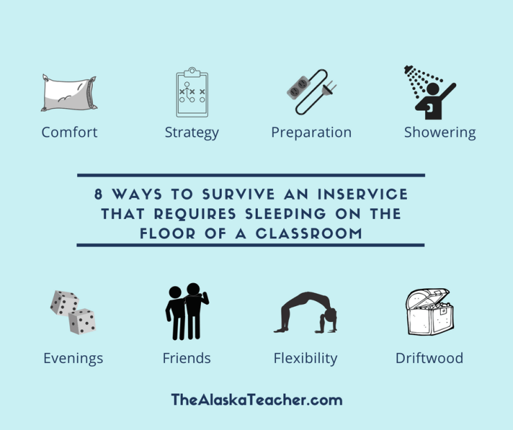8 Tips on how to survive district inservice in the Alaska Bush