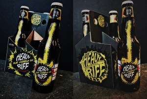Heavy Riff Packaging Design and Prototypes