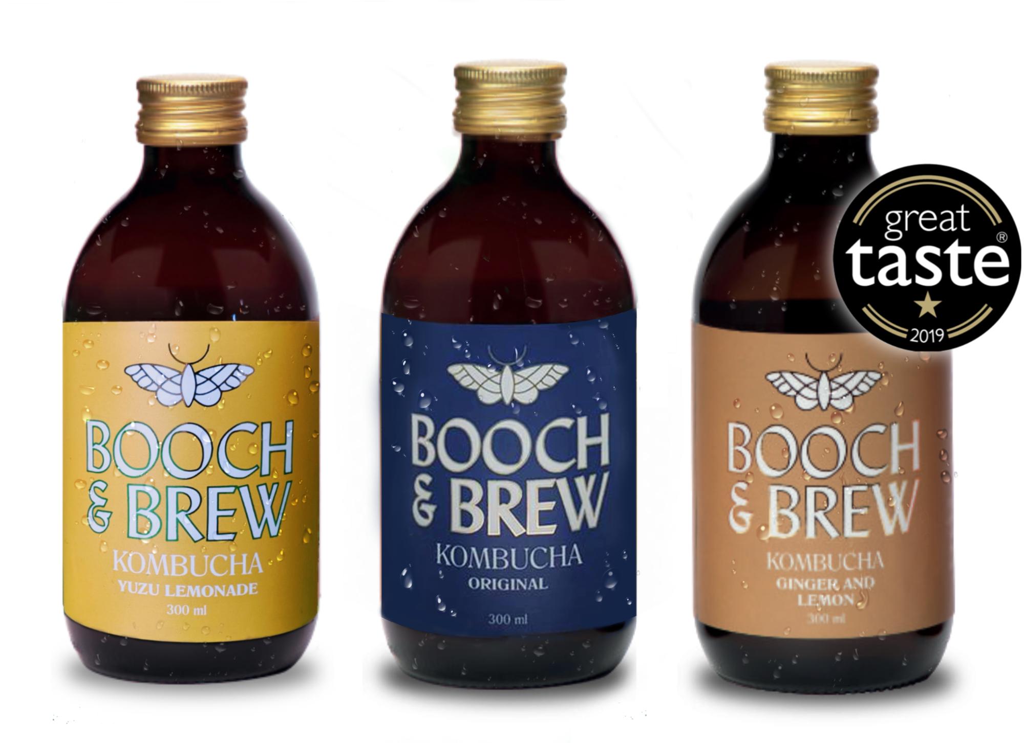 Mixed 12 case of Booch & Brew Kombucha - The Alcohol Free Co