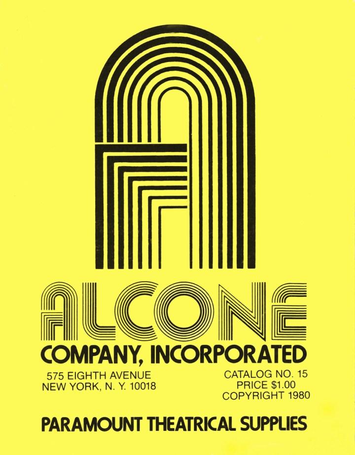 Alcone Company vintage makeup catalog 1980